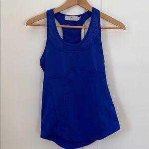 Adidas by Stella McCartney royal blue tank size S